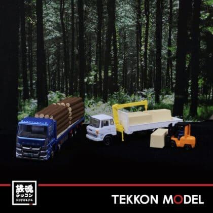 Nゲージ TOMYTEC 307877 ザ・トラックコレクション 製材所トラックセット