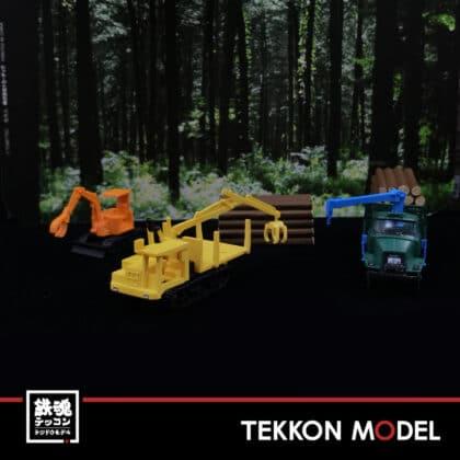Nゲージ TOMYTEC 307884 ザ・トラックコレクション 原木運搬セット