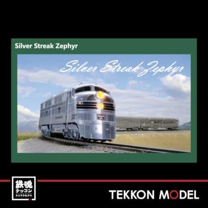 Nゲージ HobbyCenter KATO  106-090 (N) CB&Q E5A&Silver Streak Zephyr 6両セット...