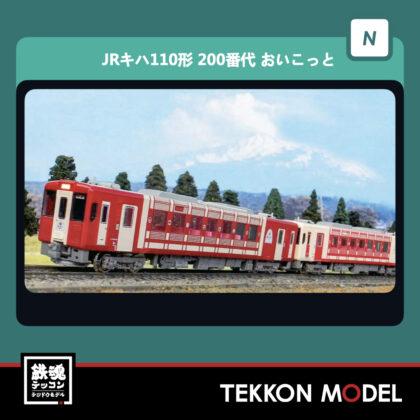 Nゲージ  GREENMAX 30459 JRキハ110形(200番代・おいこっと・行先選択式)2両編成セット(動力付き)...