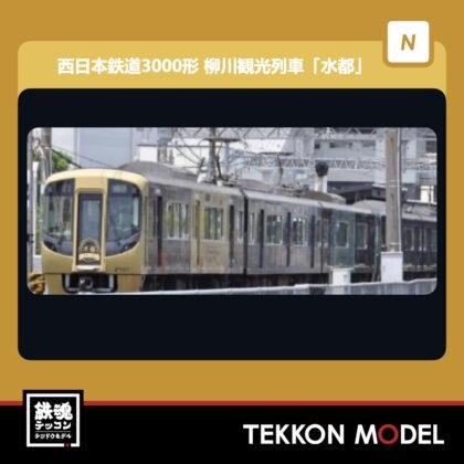 Nゲージ  TOMYTEC 319092 鉄道コレクション 西日本鉄道3000形 柳川観光列車「水都」...